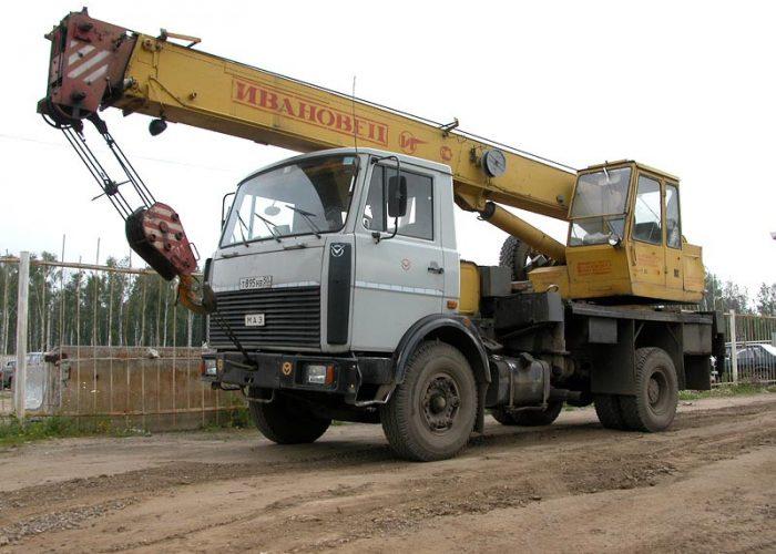 Кран МАЗ-5337
