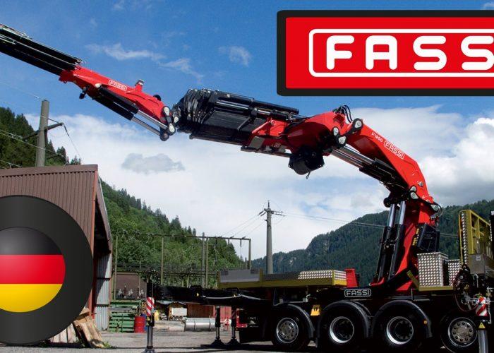 Кран-манипулятор Fassi Ladekrane GmbH