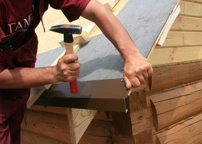 Лобовая карнизная планка для крыши