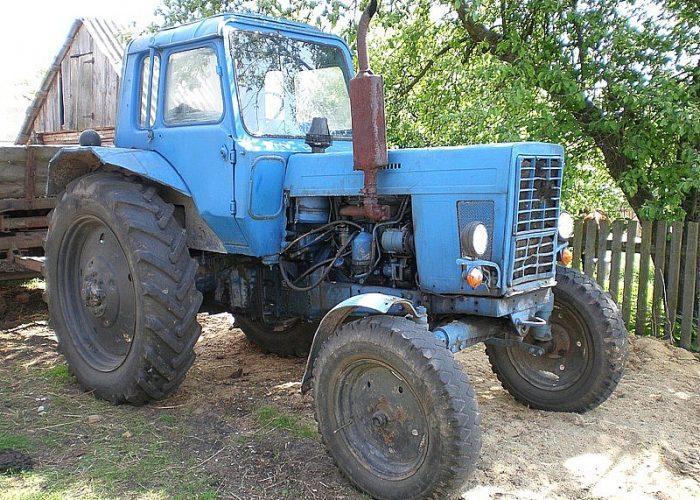МТЗ 80 синий