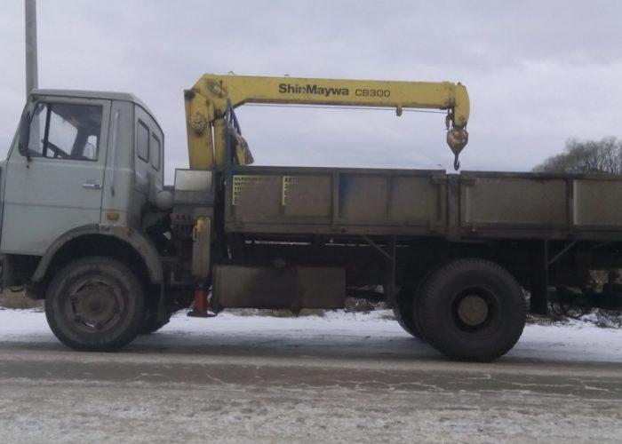 Манипулятор МАЗ-5337