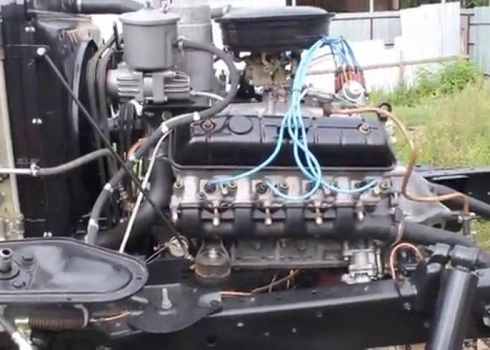 Обкатка двигателя ГАЗ-66