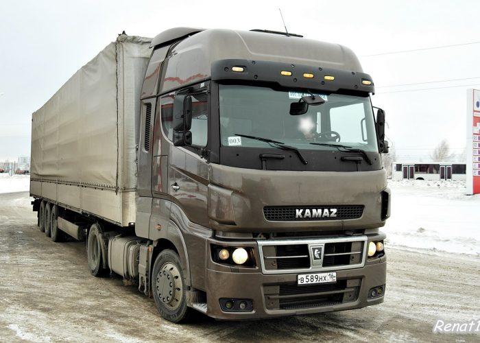 Обзор модели КамАЗ 5490