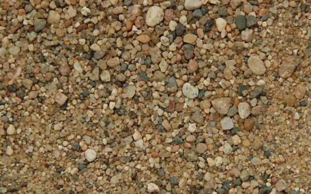 Отсев от песка