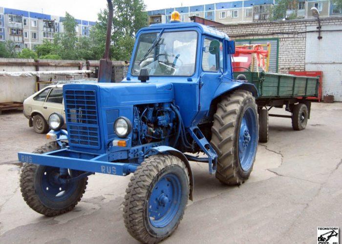 ПФ-0,5 на базе трактора МТЗ-80