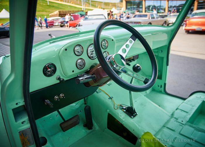 Пикап из ГАЗ-53 салон