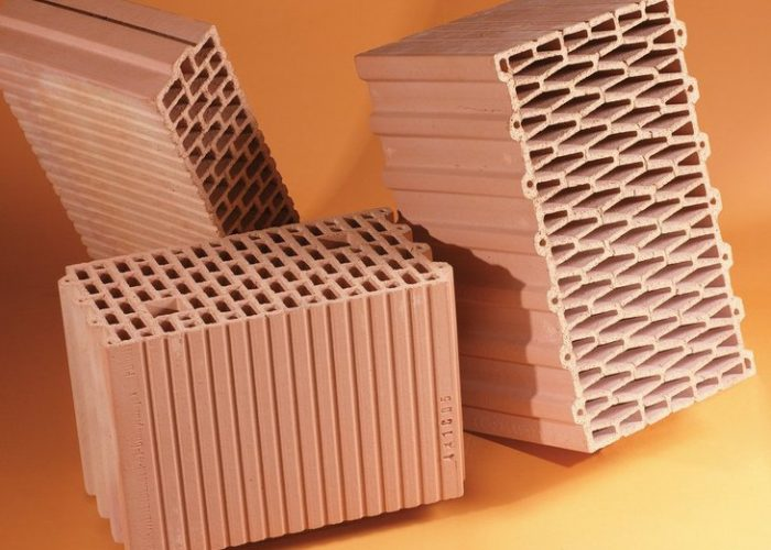 Поризованный керамический кирпич