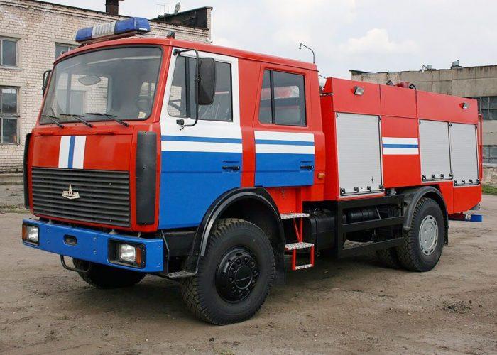 Пожарная машина МАЗ-5337