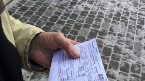 При утрате квитанции на оплату госпошлины необходимо обратиться с соответствующим заявлением в банк