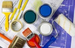 Расчет количества краски по бетону