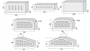 Размеры белого клинкерного кирпича CRH