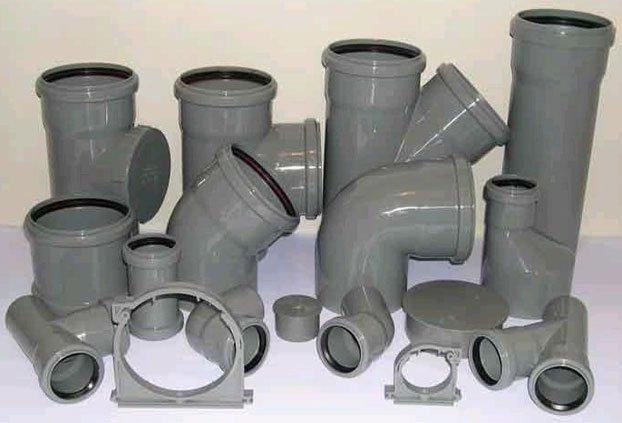 Размеры канализационных фитингов