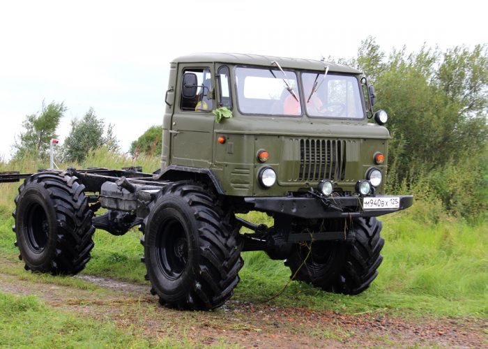 Резина на ГАЗ-66