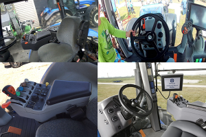 Салон трактора Нью Холланд Т-8040