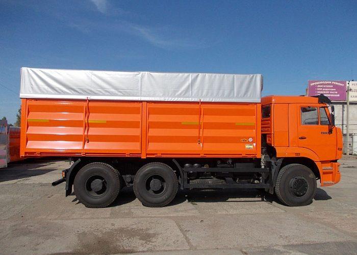 Самосвальный кузов на КАМАЗ 6520