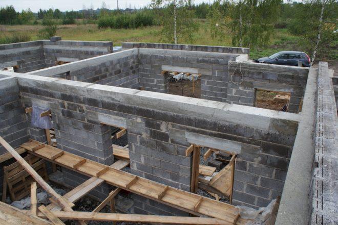 Строительство домов из керамзитобетонных блоков