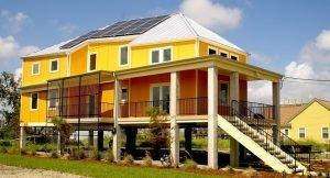 Свайный фундамент получает всё большее распространение в строительстве частных домов