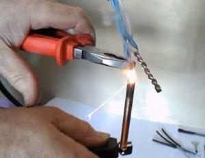 Сварка алюминиевых проводов