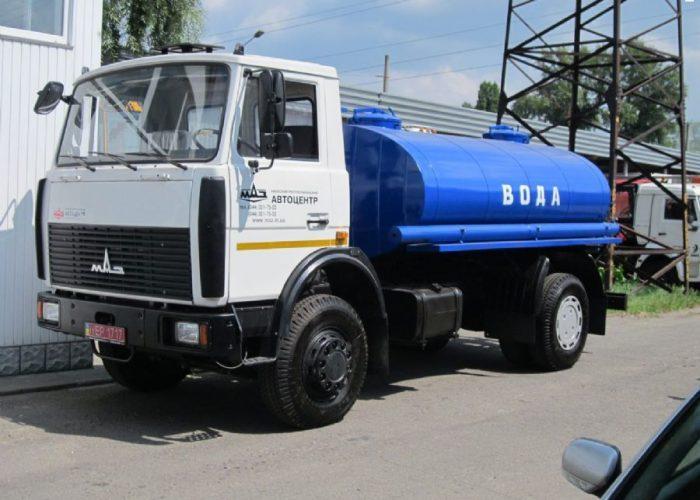 Цистерна на МАЗ-5337
