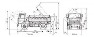 Технические характеристики МАЗ 5551