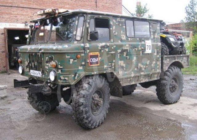 Тюнинг ГАЗ 66