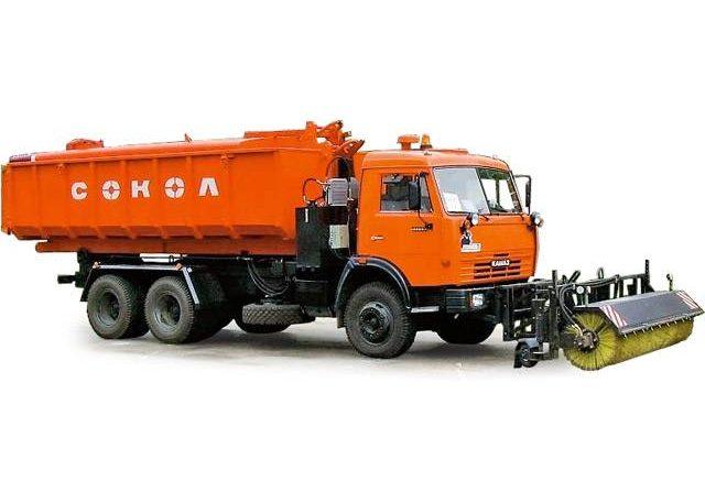 Уборочная машина КамАЗ 53229
