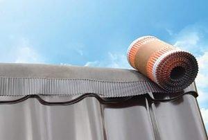 Уплотнители для конька крыши