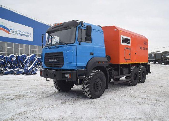 Урал 5557 паропромысловая установка