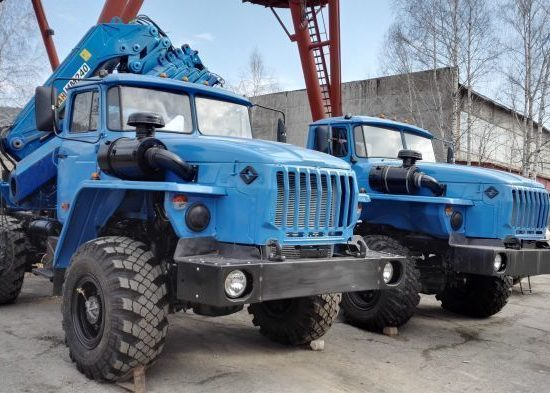 Урал 5557 вездеход