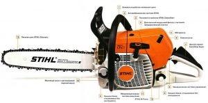 Устройство Stihl MS-660