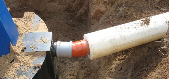 Утепление канализационной трубы в грунте