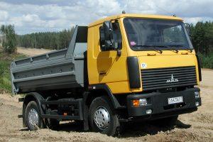 Внешний вид МАЗ-5551