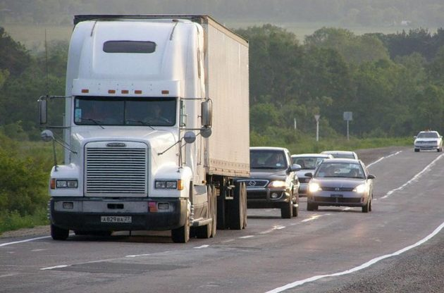 Вождение грузового авто