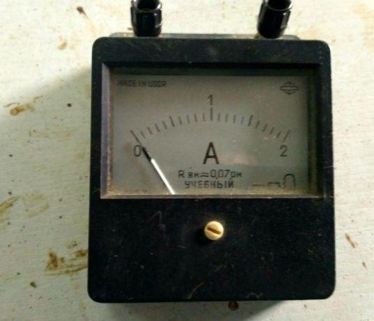 Амперметр на 2 А