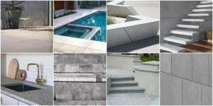 Архитектурный бетон - применение