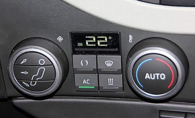 Блок управления климатом Volvo FH16