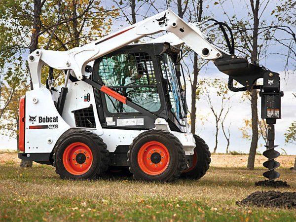 Bobcat S530 в работе