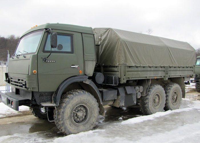 Бронированный КамАЗ 5350