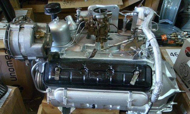 Двигатель ГАЗ-71