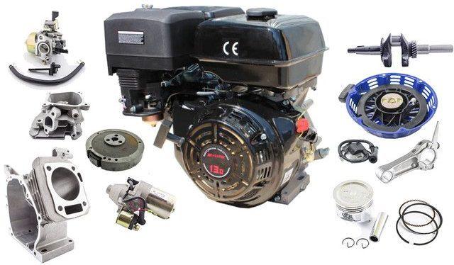 Двигатель Интерскол-Loncin