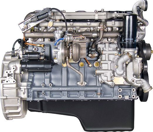 Двигатель ЯМЗ-536 с турбонаддувом