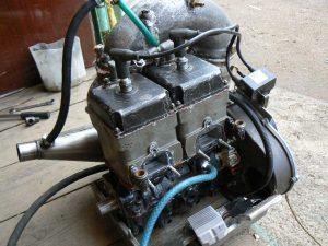 Двигатель снегохода Рысь 440
