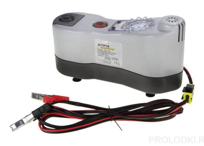 Электрический насос с манометром