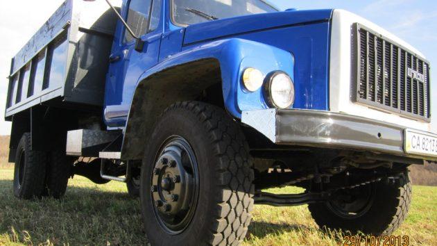 ГАЗ-4301 - вид снизу