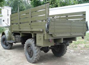 Грузовая платформа ГАЗ-63