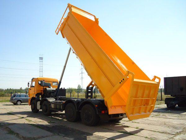 Грузовая платформа КАМАЗ-65201