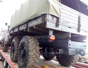 Ходовая часть Урал-375