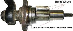 Износ рулевого редуктора Газ