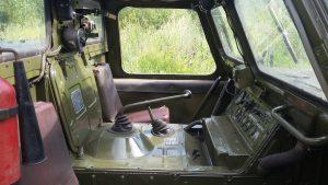 Кабина ГАЗ-71 внутри