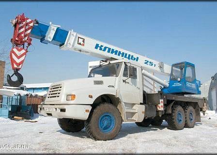 КамАЗ-4355 автокран